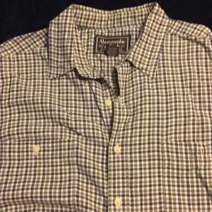 Abercrombie & Fitch Large long sleeve dress shirt